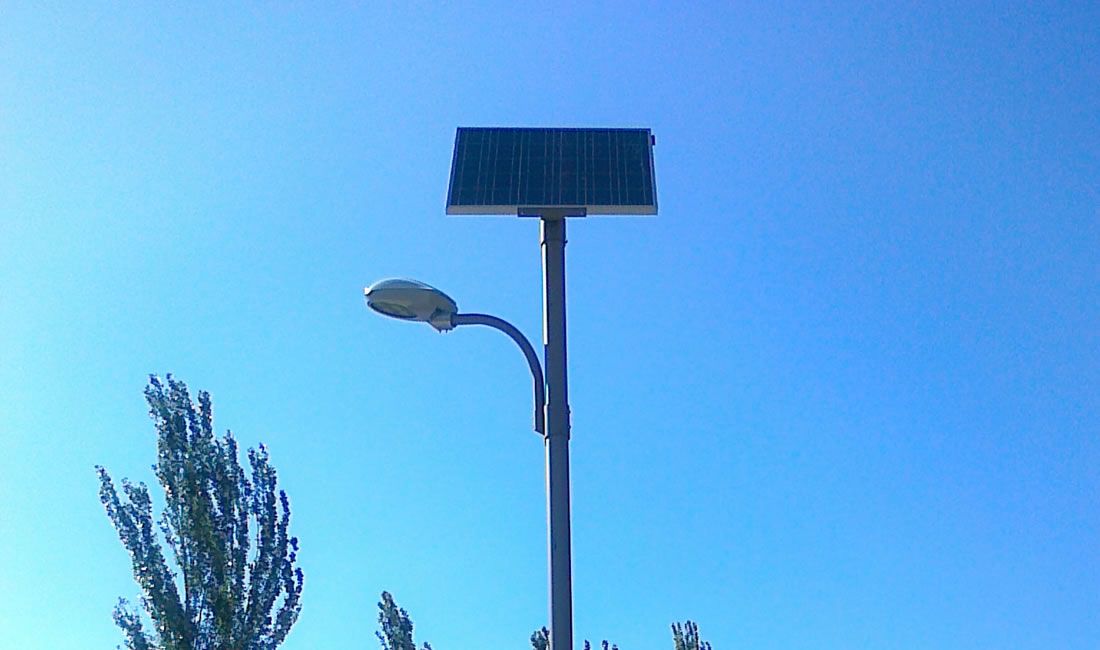 Farolas Solares Alicante